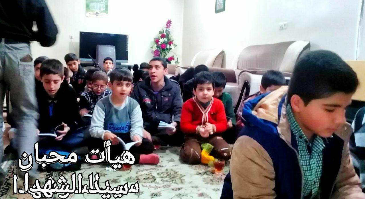 هیئت نوجوانان محبان سیدالشهدا(ع)مشهد مقدس