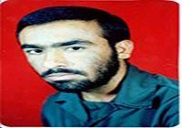 سردار شهید علی بینا فرمانده گردان ۴۱۴