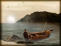 در قایق، هر دو به یک جهت پارو بزنید!